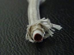 单芯玻璃丝编织硅橡胶线缆
