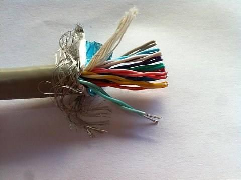 铠装双绞屏蔽双绞线 ASTP-120Ω 2*18AWG