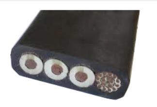 高压扁必威体育betway西汉姆联YJGCFPB-10KV 3×35+3×16/3+(10*2.5+12FO)带光纤